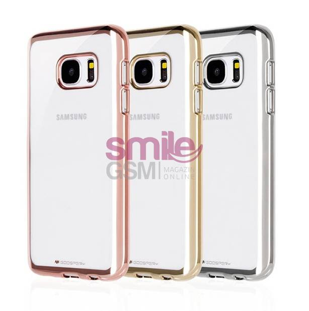 husa silicon goospery ring2 case samsung galaxy s7 edge rose gold. Black Bedroom Furniture Sets. Home Design Ideas