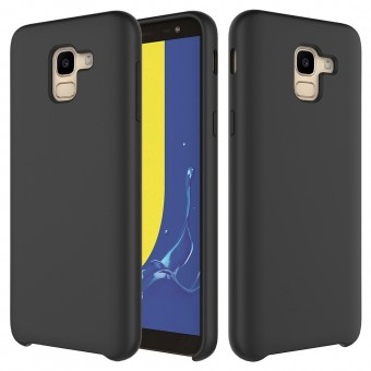 Husa silicon High Quality Samsung Galaxy A8 2018 Black