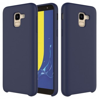Husa silicon High Quality Samsung Galaxy A8 2018 Midnight Blue