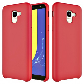 Husa silicon High Quality Samsung Galaxy A8 2018 Red
