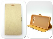 Husa FlipCover Stand Magnet HTC Desire 650 GOLD