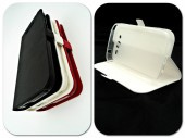 Husa FlipCover Stand Magnet HTC Desire 825 ALB