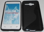 Toc silicon S-Case Alcatel One Touch Star 6010 Negru
